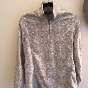 Lands End fleece pullover